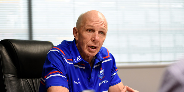 Loading LEGEND: Sir Gordon Tietjens will start a new chapter in his coaching career with Samoa in January. PHOTO:GEORGE NOVAK