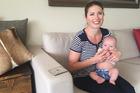 Christchurch mum Libby McKenzie and her miracle baby Mac. Photo / Kurt Bayer