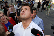Gable Tostee pictured here arriving here at Brisbane Supreme court today. Photo / Jack Tran, News Ltd