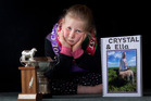 Ella Ensor was left distraught and horrified after her pet lamb crystal died after being repeatedly kicked by a youth on a school calf day. Photo/Andrew Warner