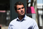 Gable Tostee at the Supreme Court in Brisbane. Photo / AP