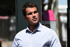 Gable Tostee is accused of murdering Warriena Wright, who fell to her death from his apartment. Photo / AP