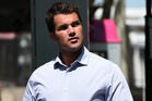 Gable Tostee at the Supreme Court in Brisbane. Photo / AAP