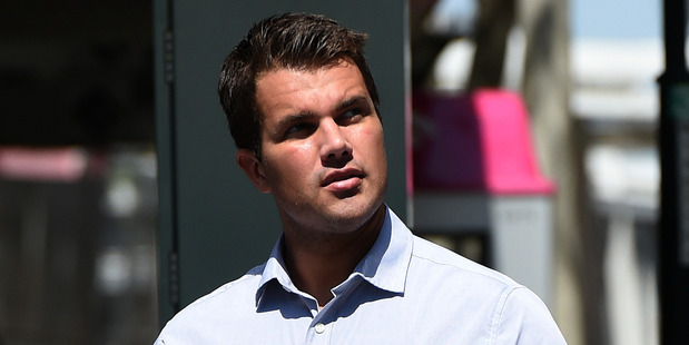 Gable Tostee leaving the Supreme Court in Brisbane. Photo / AAP