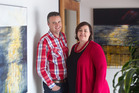 BIG PLANS: Darren and Rachael McGarvie want to open an Innovation Centre in Rotorua. PHOTO/STEPHEN PARKER