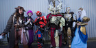 Large crowds of people flooded into ASB Showgrounds for Armageddon Expo. Photo / Nick Reed