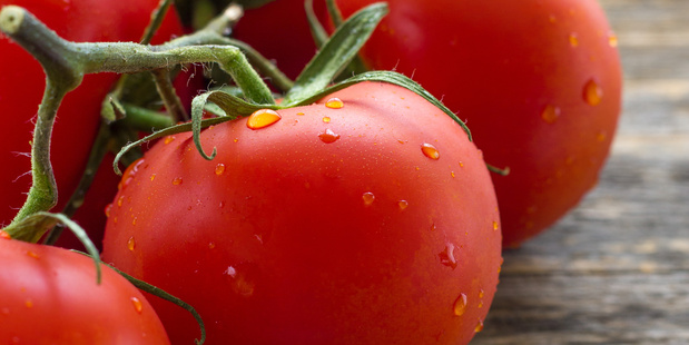 Tomatoes shouldn't be kept in the fridge if you want them to retain their flavour. Photo / 123rf