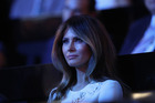 Melania Trump, wife of Republican Presidential Nominee Donald Trump, has spoken out in his defence, but has so far refused to be interviewed with him. Photo / AP
