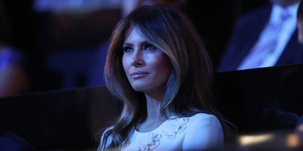 Loading Melania Trump, wife of Republican Presidential Nominee Donald Trump, has spoken out in his defence, but has so far refused to be interviewed with him. Photo / AP