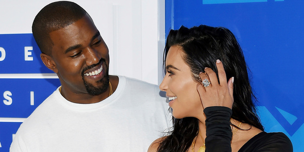 Kanye West happens to be with a white girl now - Kim Kardashian West. Photo / AP