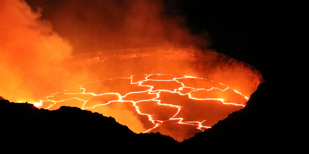 Pele is the Hawaiian goddess of fire and volcanoes but not everyone is convinced she punishes light-fingered tourists. Photo / United States Geological Survey via AP