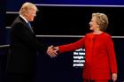 Donald Trump and Hillary Clinton. Photo / AP