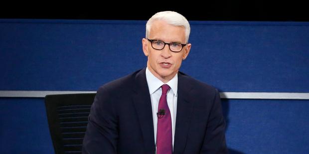 Anderson Cooper, of CNN. Photo / AP