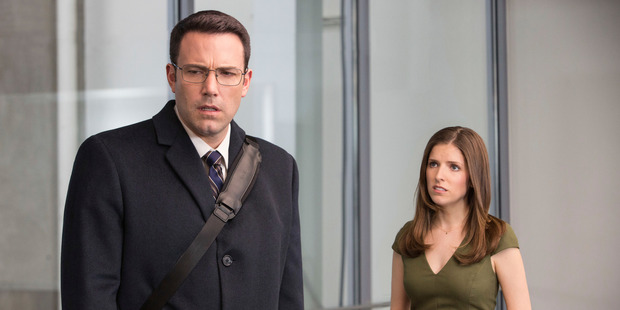 Ben Affleck fans showed much more love for The Accountant than critics. Photo / AP