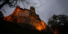 Bran Castle - also known as Dracula's Castle - lies on top of cliffs in Bran, Romania. Photo / AP