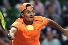 Australian tennis bad boy Nick Kyrgios. Photo / AP