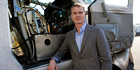Dan Patt of Aurora Flight Sciences stands next to the firms Aircrew Labor In-Cockpit Automantion System. Photo / AP