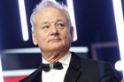 Bill Murray is this year's recipient of the Mark Twain Prize for American Humor. Photo / AP