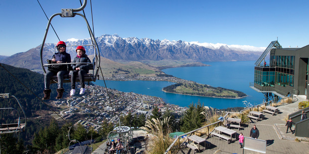 Queenstown has been named the top destination in Australasia. Photo / Mark Mitchell