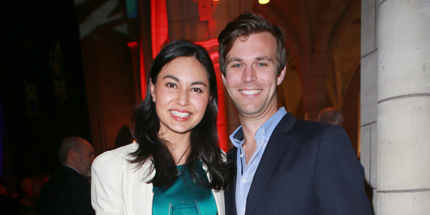 Nadia Lim and Carlos Bagrie. Photo / Norrie Montgomery
