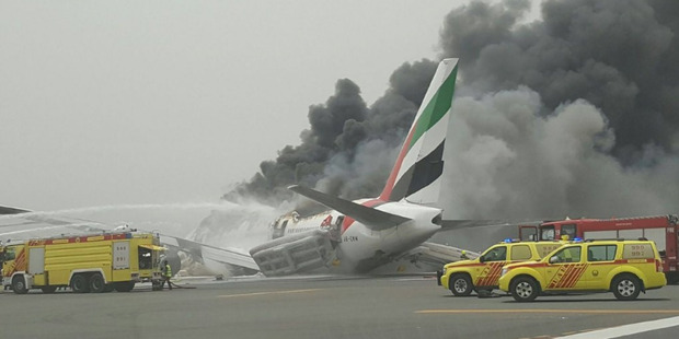 Emirates flight EK521 crash landed at Dubai Airport after a flight from India on August 3.