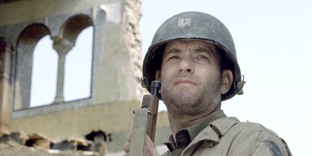 Tom Hanks in Saving Private Ryan.