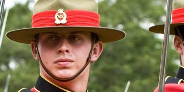 Lieutenant Samuel Scott died after being injured in a rugby league match in 2014. Photo / Supplied