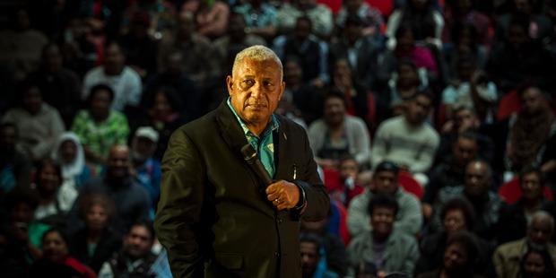 Prime Minister Frank Bainimarama. Herald on Sunday photograph by Michael Craig.