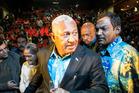 Fiji Prime Minister Frank Bainimarama. Photo/Michael Craig