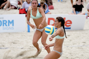 A national beach volleyball comp will be happening on Saturday and Sunday this weekend. Photo/file