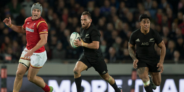 Loading Aaron Cruden, in action against Wales earlier this year, is off contract next year and would be allowed to leave after the Lions series. Photo / NZ Herald.