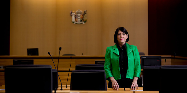Chief District Court Judge Jan-Marie Doogue said today that two dedicated sexual violence courts will be trialled in Whangarei and Auckland. Photo / Dean Purcell