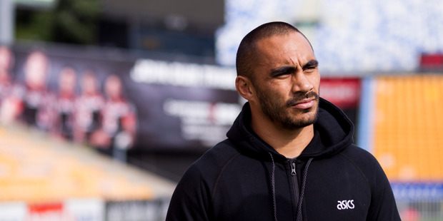 Thomas Leuluai will relocate to the UK after the upcoming Four Nations tournament. Photo / Dean Purcell - New Zealand Herald.