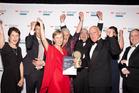 Westpac Tauranga Business of the Year 2016 overall winners, EmployNZ.  Photo/Andrew Warner