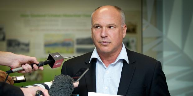 New Zealand Cricket chief executive David White. Photo / Sarah Ivey