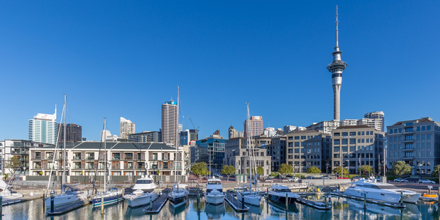 Businesses like Aecom are interested in investing in Auckland partly because of the strength of the city's natural assets.