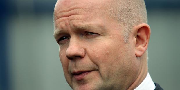William Hague. Photo / File