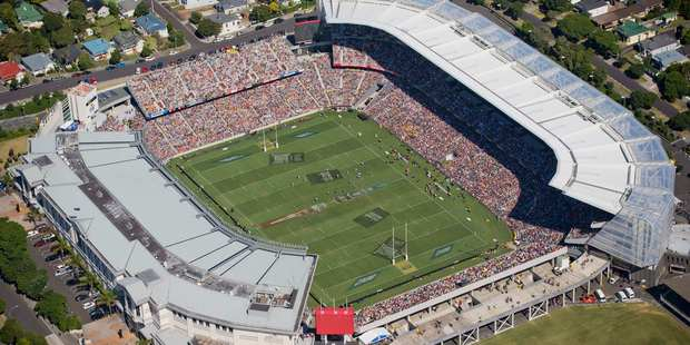 The aerial view of the Eden Park. Photo / Greg Bowker