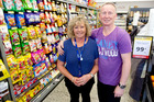 Julie Bruce and Tony Bruce own and operate the new SuperValue supermarket in Pyes Pa. Photo/file