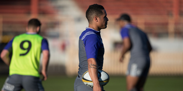 All Blacks halfback Aaron Smith has been found guilty of serious misconduct. Photo / Brett Phibbs
