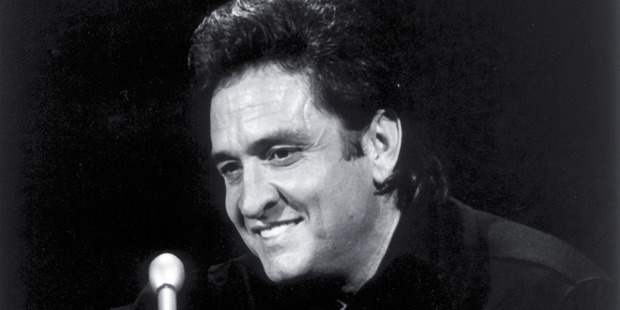 Johnny Cash. File photo / NZ Herald