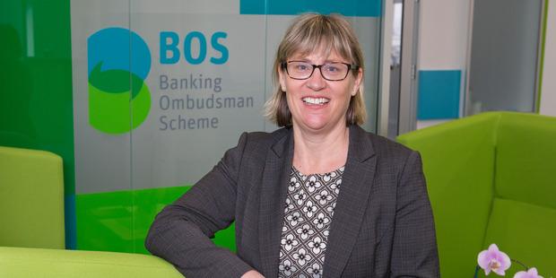 Banking Ombudsman Nicola Sladden in their Wellington office. Photo / Mark Mitchell