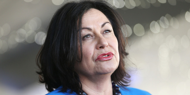 John Key has suggested that the ill-health of Hekia Parata's husband, Sir Wira Gardiner, is the reason behind her quitting politics next year. Photo / Doug Sherring