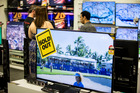 Big screen TVs are getting cheaper - New Zealand Herald Photograph