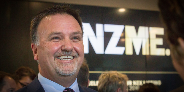 NZME chief executive Michael Boggs. Photo / Greg Bowker