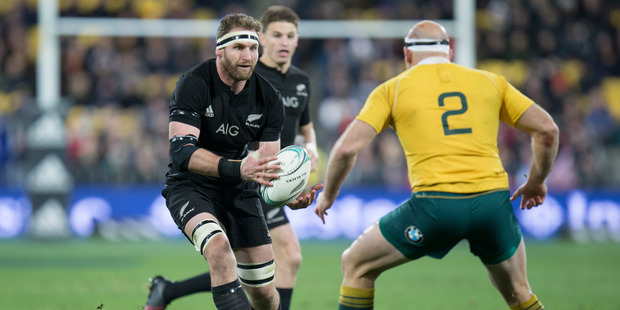 Loading All Blacks captain Kieran Read knows the Wallabies will stand their ground against them tomorrow night. Photo / Mark Mitchell - NZ Herald.