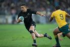 All Blacks second five-eighths Anton Lienert-Brown. Photo / NZME