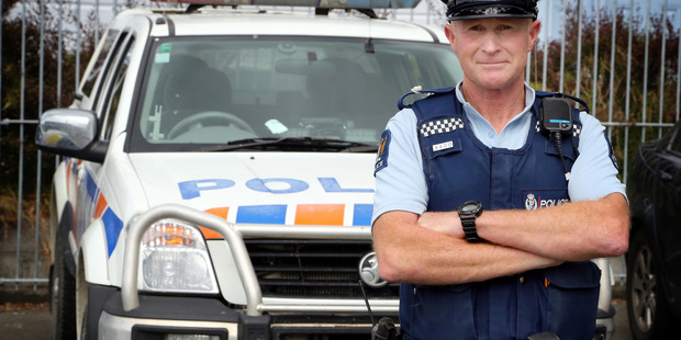 Community Constable Keith Butters is one of those most likely to be seen on Whanganui streets. PHOTO/ FILE