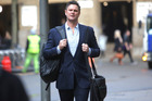 Chris Cairns at Southwark Crown Court in his trial for perjury in London. Photo / Chris Gorman
