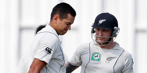 Brendon McCullum admits he nearly quit the game over the Ross Taylor captaincy saga. Photo / NZ Herald.